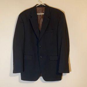 Lauren Ralph Lauren suit jacket. Black pinstripe.